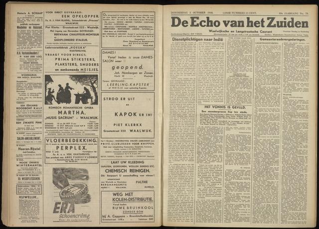 Echo van het Zuiden 1946-10-03