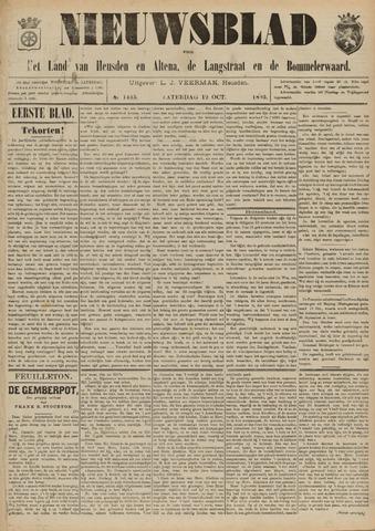 Nieuwsblad het land van Heusden en Altena de Langstraat en de Bommelerwaard 1895-10-12