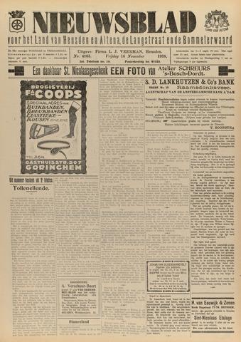 Nieuwsblad het land van Heusden en Altena de Langstraat en de Bommelerwaard 1928-11-16