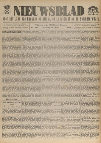 Nieuwsblad het land van Heusden en Altena de Langstraat en de Bommelerwaard 1919-03-26