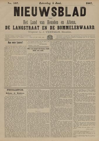 Nieuwsblad het land van Heusden en Altena de Langstraat en de Bommelerwaard 1887-06-04