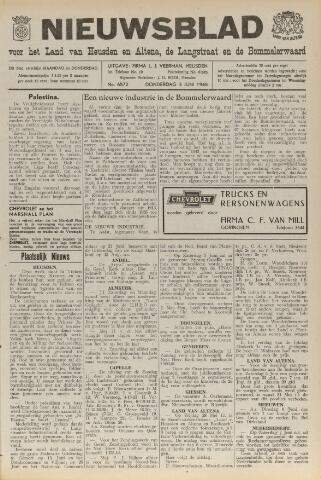 Nieuwsblad het land van Heusden en Altena de Langstraat en de Bommelerwaard 1948-06-03