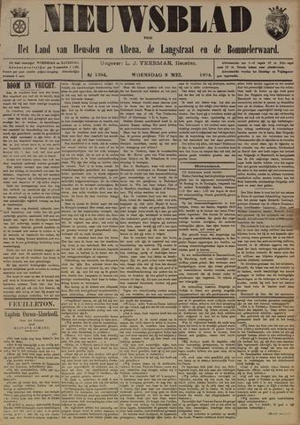 Nieuwsblad het land van Heusden en Altena de Langstraat en de Bommelerwaard 1894-05-09