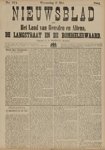 Nieuwsblad het land van Heusden en Altena de Langstraat en de Bommelerwaard 1885-05-06