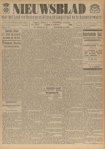 Nieuwsblad het land van Heusden en Altena de Langstraat en de Bommelerwaard 1924-02-08