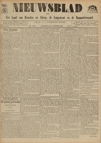 Nieuwsblad het land van Heusden en Altena de Langstraat en de Bommelerwaard 1896-02-08