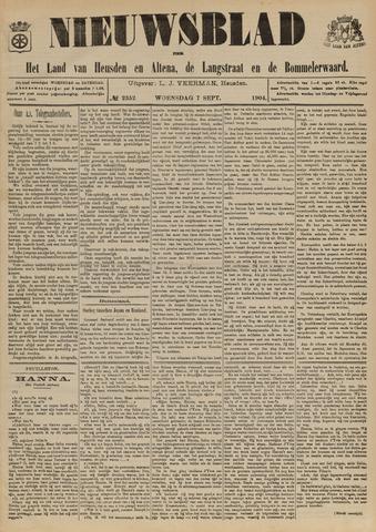 Nieuwsblad het land van Heusden en Altena de Langstraat en de Bommelerwaard 1904-09-07