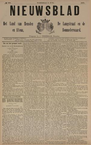 Nieuwsblad het land van Heusden en Altena de Langstraat en de Bommelerwaard 1888-06-06