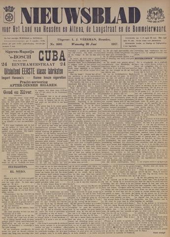 Nieuwsblad het land van Heusden en Altena de Langstraat en de Bommelerwaard 1917-06-20