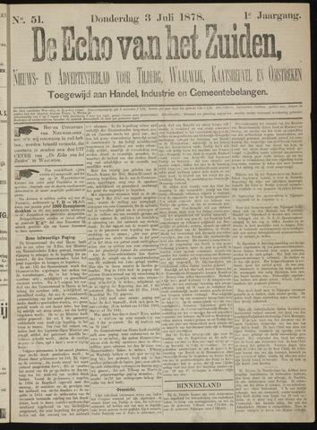 Echo van het Zuiden 1878-07-03