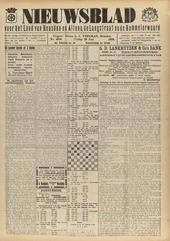 Nieuwsblad het land van Heusden en Altena de Langstraat en de Bommelerwaard 1928-06-29