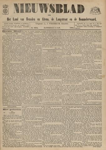 Nieuwsblad het land van Heusden en Altena de Langstraat en de Bommelerwaard 1904-01-09