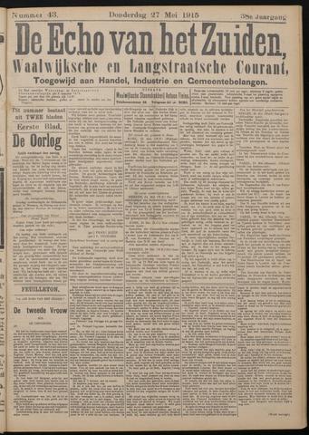 Echo van het Zuiden 1915-05-27