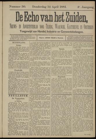 Echo van het Zuiden 1881-04-14
