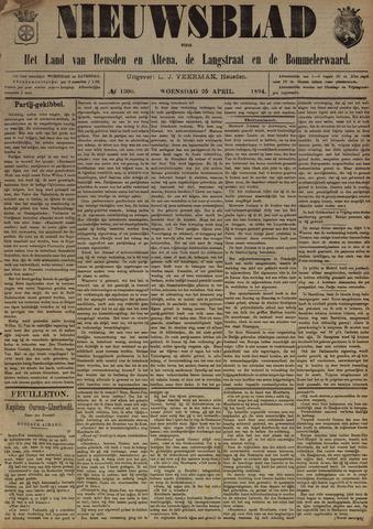 Nieuwsblad het land van Heusden en Altena de Langstraat en de Bommelerwaard 1894-04-25
