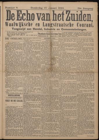 Echo van het Zuiden 1916-01-27
