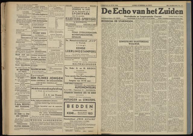 Echo van het Zuiden 1946-06-14