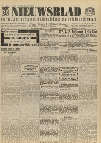 Nieuwsblad het land van Heusden en Altena de Langstraat en de Bommelerwaard 1929-08-09