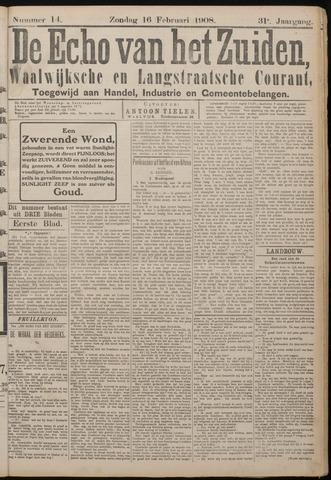 Echo van het Zuiden 1908-02-16