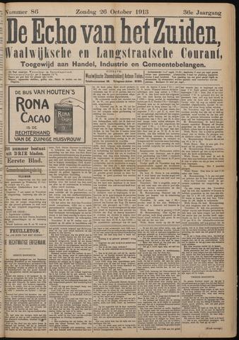 Echo van het Zuiden 1913-10-26