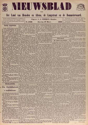 Nieuwsblad het land van Heusden en Altena de Langstraat en de Bommelerwaard 1909-03-27
