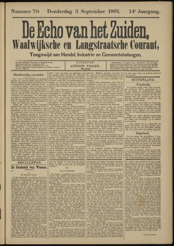 Echo van het Zuiden 1891-09-03