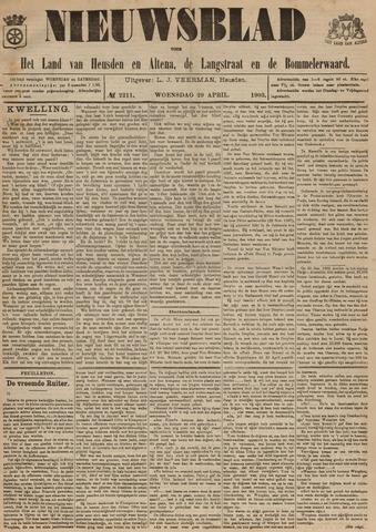 Nieuwsblad het land van Heusden en Altena de Langstraat en de Bommelerwaard 1903-04-29