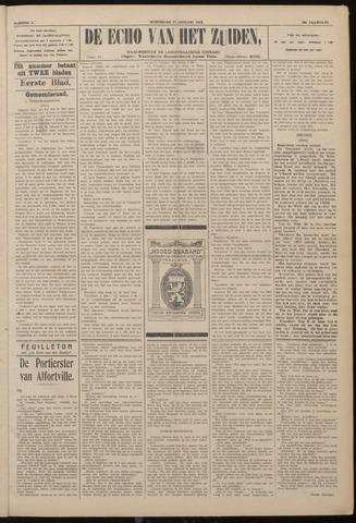 Echo van het Zuiden 1922-01-11