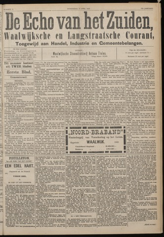 Echo van het Zuiden 1920-04-15