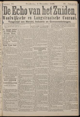 Echo van het Zuiden 1908-12-03