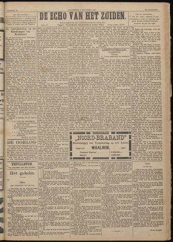 Echo van het Zuiden 1917-11-01