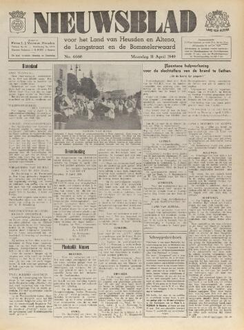 Nieuwsblad het land van Heusden en Altena de Langstraat en de Bommelerwaard 1949-04-11