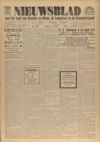 Nieuwsblad het land van Heusden en Altena de Langstraat en de Bommelerwaard 1932-10-07