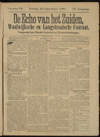 Echo van het Zuiden 1895-09-22