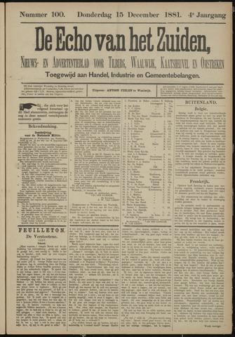 Echo van het Zuiden 1881-12-15