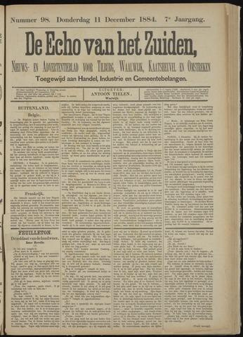 Echo van het Zuiden 1884-12-11