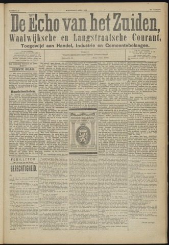 Echo van het Zuiden 1924-04-02