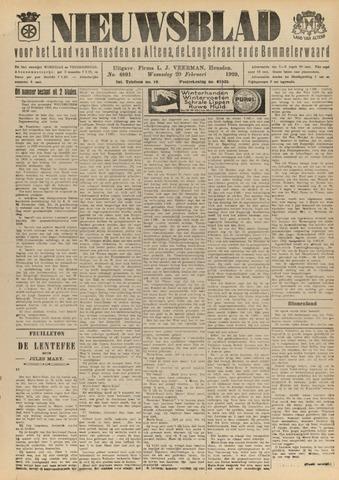 Nieuwsblad het land van Heusden en Altena de Langstraat en de Bommelerwaard 1929-02-20