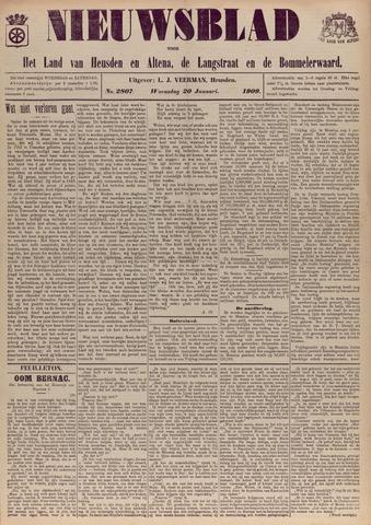Nieuwsblad het land van Heusden en Altena de Langstraat en de Bommelerwaard 1909-01-20