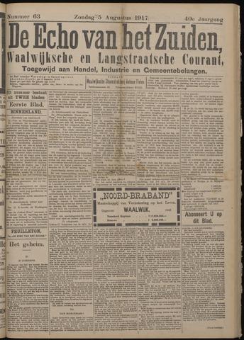 Echo van het Zuiden 1917-08-05
