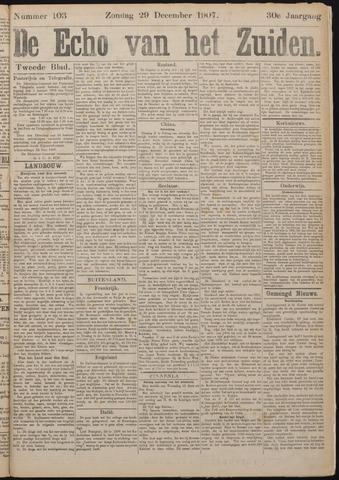 Echo van het Zuiden 1907-12-29