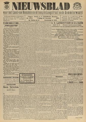 Nieuwsblad het land van Heusden en Altena de Langstraat en de Bommelerwaard 1927-12-30