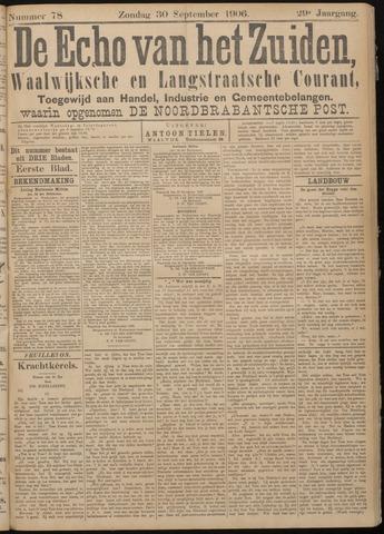 Echo van het Zuiden 1906-09-30