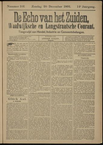 Echo van het Zuiden 1891-12-20
