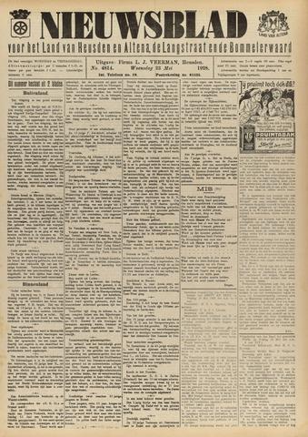 Nieuwsblad het land van Heusden en Altena de Langstraat en de Bommelerwaard 1928-05-23