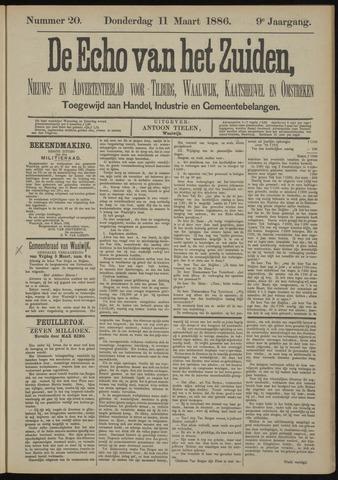 Echo van het Zuiden 1886-03-11