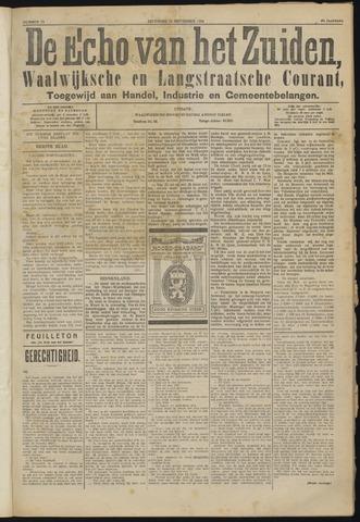 Echo van het Zuiden 1924-09-13