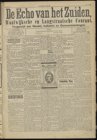 Echo van het Zuiden 1924-07-23