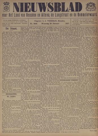 Nieuwsblad het land van Heusden en Altena de Langstraat en de Bommelerwaard 1917-02-28