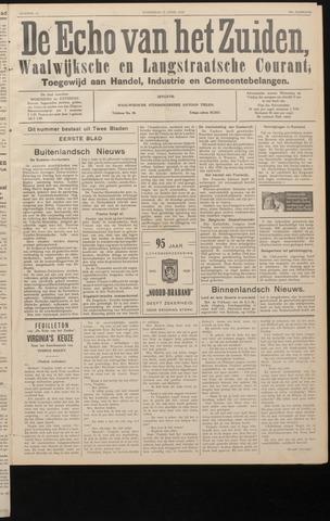Echo van het Zuiden 1938-04-27